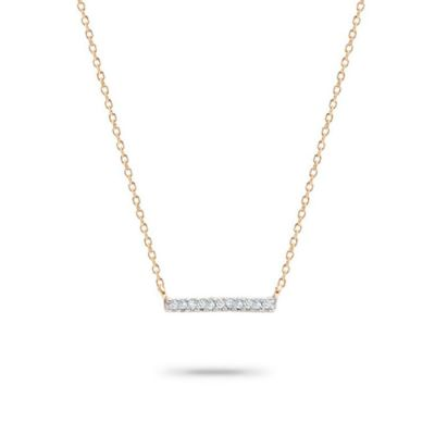 Adina Reyter Pave Bar Necklace