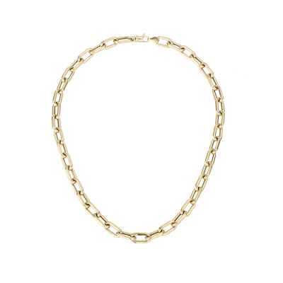 Adina Reyter 7mm Italian Chain Link Necklace