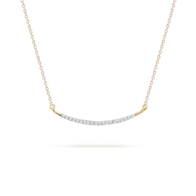 Adina Reyter Large Pave Curve Necklace