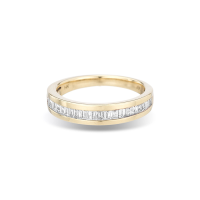 Adina Reyter Small Heirloom Baguette Band Ring