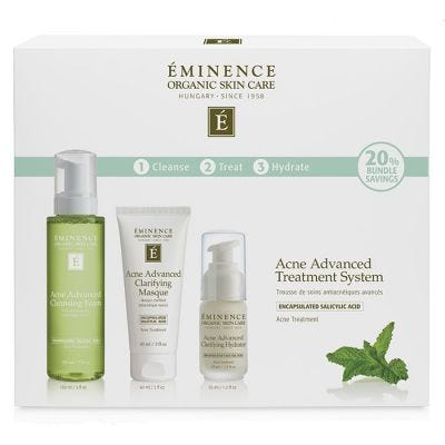 Eminence Organic Skin Care - Acne Advanced Treatment System
