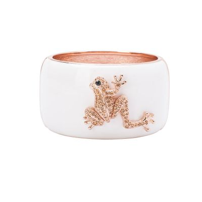 JCB Bracelet - Frog (Antique Rose)
