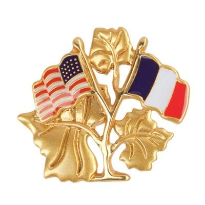 JCB Jewelry Brooch - Franco American