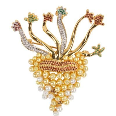 JCB Jewelry Brooch or Necklace - The Touch