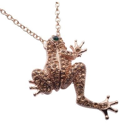 JCB Necklace - La Grenouille Peche (Frog)