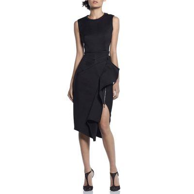 "Maticevski ""Pandora"" Sleeveless Dress - Black"