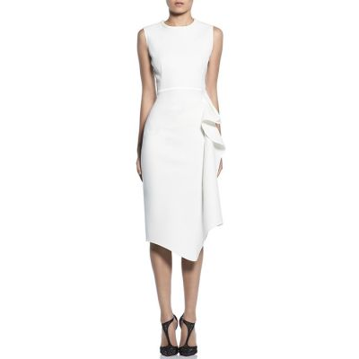 "Maticevski ""Pandora"" Sleeveless Dress - White"