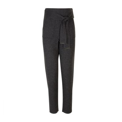 Max&Moi Babo Knitted Pants Anthracite