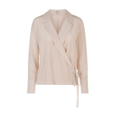 "Max&Moi ""Hanno"" Wrap-Over Blouse"