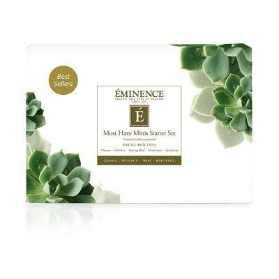Eminence Organic Skin Care - Must Have Minis Starter Set