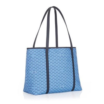 Pinel & Pinel Colette Medium Shopper - Azur and Navy