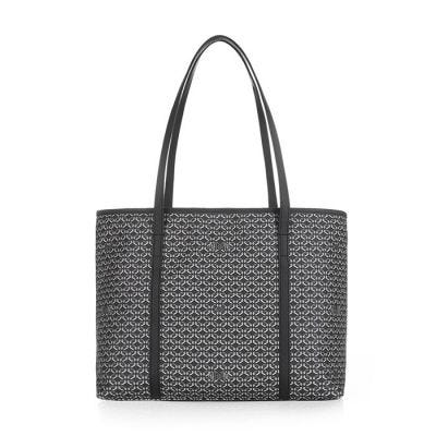 Pinel & Pinel Colette Medium Shopper - P&P Print - Perfect Black