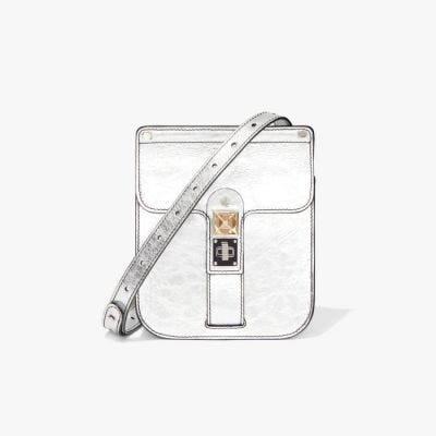 Proenza Schouler Ps11 Box Bag - Silver