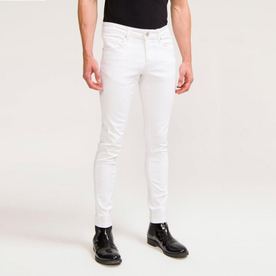 Ron Tomson 2-Weeks Wash Denim - White