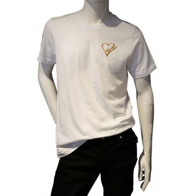 JCB Collection The Golden Heart Crew Neck T-Shirt